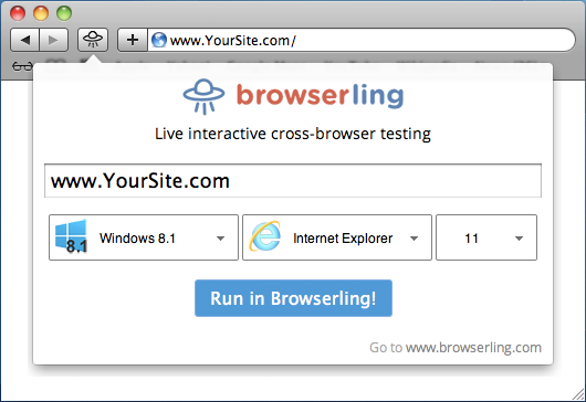 Announcing Browserling's Safari Extension! - Cross-Browser