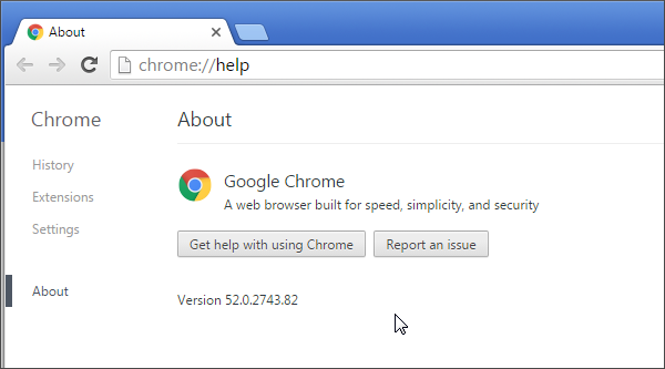 Cloud testing in Chrome 52