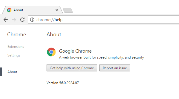 Cross-browser testing in Chrome 56