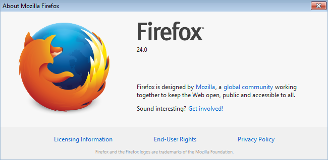 Firefox 24 cross browser testing