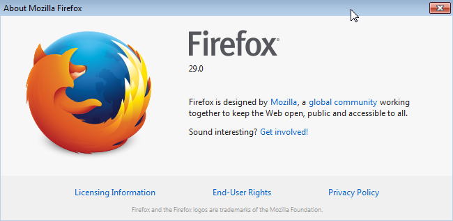 JavaScript and web testing in Firefox 29