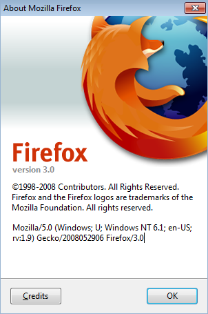 Firefox 3 Version