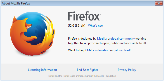 Firefox 52 is now available for cross-browser testing - Cross