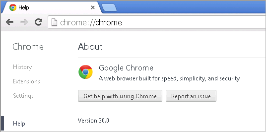 Cross-browser testing in Chrome 30