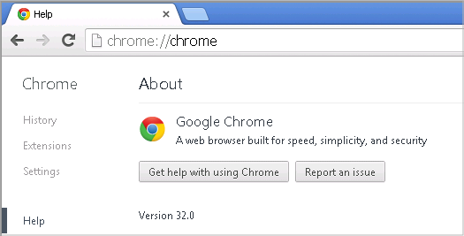 Cross-browser testing in Chrome 32