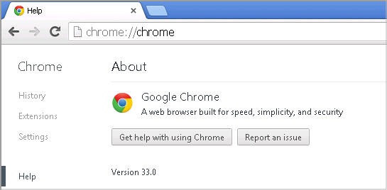 Cross-browser testing in Chrome 33