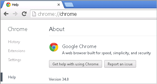 Cross-browser testing in Chrome 34
