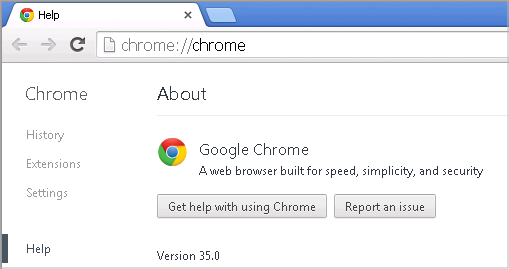 Cross-browser testing in Chrome 35