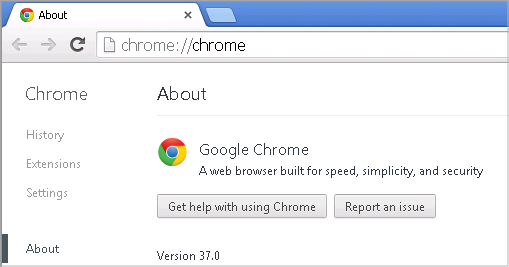 Cross-browser testing in Chrome 37