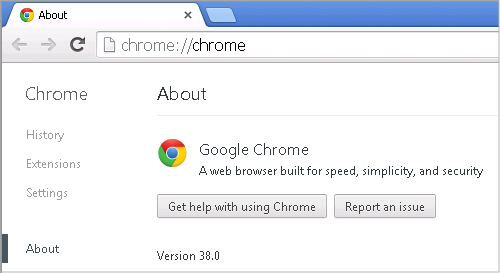 Cross-browser testing in Chrome 38