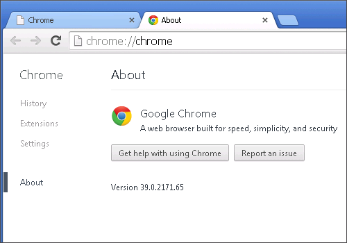 Cross-browser testing in Chrome 39