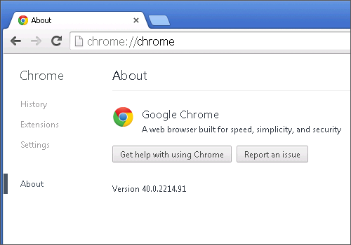 Cross-browser testing in Chrome 40