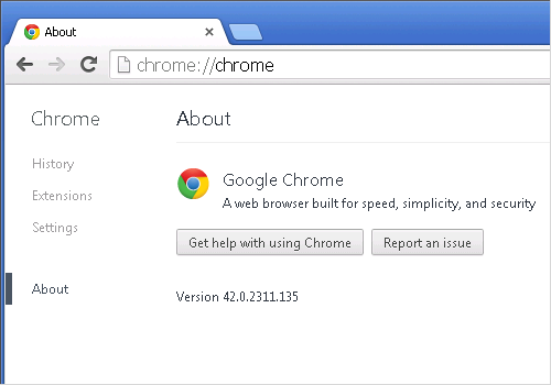 Cross-browser testing in Chrome 42