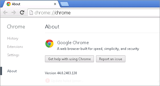 Cross-browser testing in Chrome 44