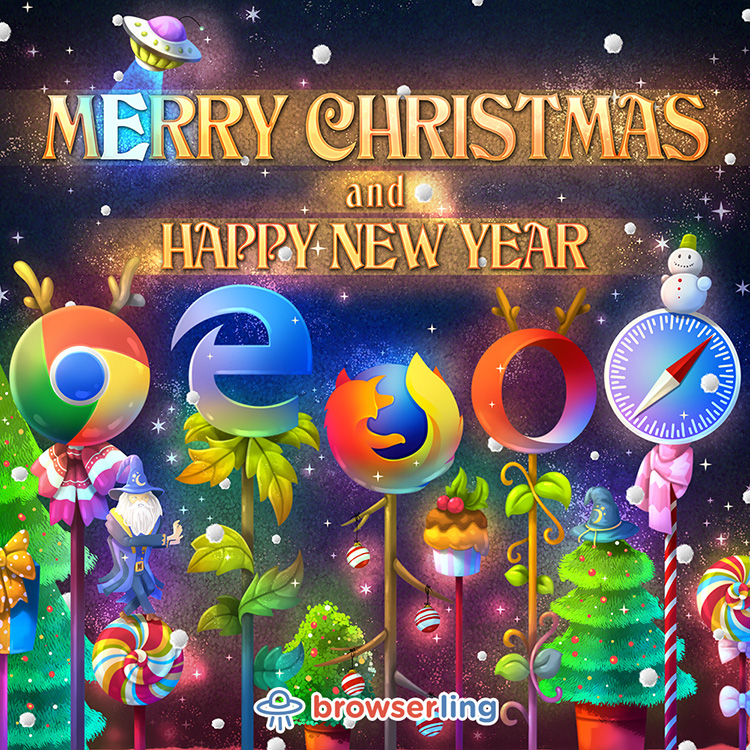 Browserful Christmas and Browserful New Year 2018!