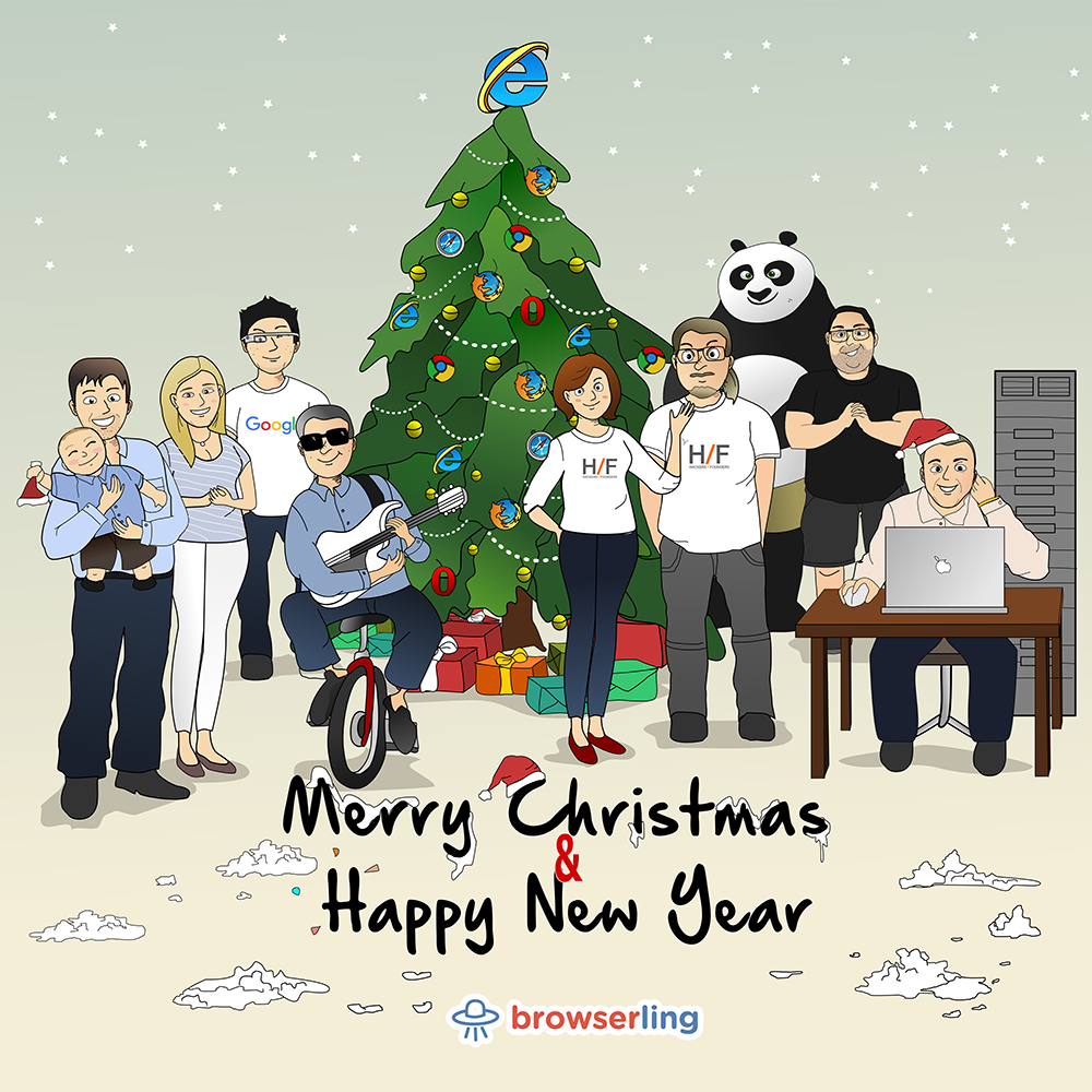 Merry Christmas & Happy New Year from Browserling! - Cross-Browser ...
