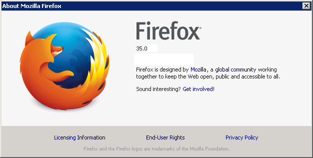 Cross-browser testing in Firefox 35